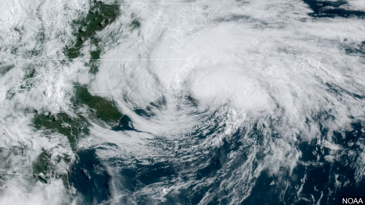 Tropical Storm Arthur - Courtesy of NOAA